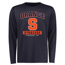 Syracuse Orange Campus Icon Long Sleeve T-Shirt - Navy - NCAA