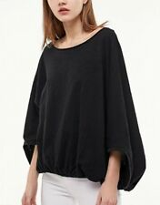 New Womens Candy Color Loose Bat Sleeve Pullover Blouse Tops T-Shirt Tee