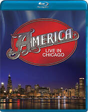 AMERICA: Live in Chicago (Blu-ray Disc, 2011) New / Factory Sealed / Free Ship