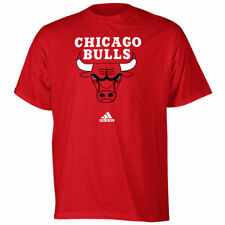 adidas Chicago Bulls Red Primary Logo T-shirt - NBA