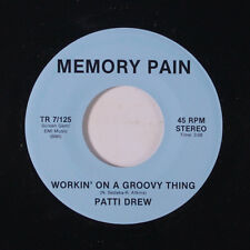 PATTI DREW: Workin' On A Groovy Thing / Tell Him 45 (re) Soul