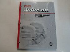 2003 Johnson ST 2 Stroke Models 55 WRL Commercial Service Repair Manual FACTORY
