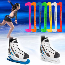 Adjustable 7 Colors Plastic Ice Hockey Skate Blade Guards Covers Protector DH