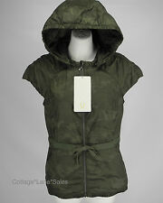 NEW LULULEMON Spring Fling Puffy Down Vest 8 Camo Camouflage Fatigue FREE SHIP