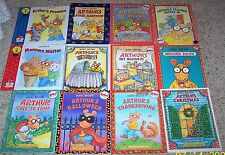 Lot of 12 Children's Arthur Picture Books by Marc Brown