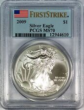 2009 $1 American Silver Eagle PCGS MS70 **First Strike**