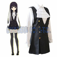 Anime Inu Boku SS Secret Service Shirakiin Ririchiyo Cosplay costume women dress