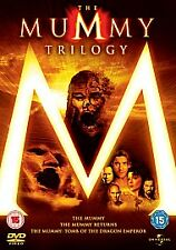 The Mummy/The Mummy Returns/The Mummy - Tomb Of The Dragon Emperor (DVD,...