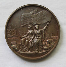1862 LONDON WORLDS FAIR INTERNATIONAL EXHIBITION BRONZE MEDAL BY T R PINCHES