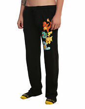 NEW Nintendo POKEMON STARTERS Sleep Lounge Pants Pajamas PJS MEN'S  Sizes M-XL