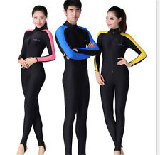 Men Women Full Wetsuit Surf Water Sports UV Protect Diving Suit Scuba Snorkeling