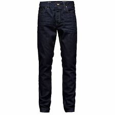 Only and Sons Mens Avi Slim Jeans Button Fly Trousers Casual Pants Bottoms