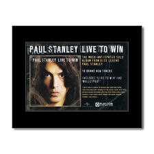 KISS - Paul Stanley - Live to Win Mini Poster
