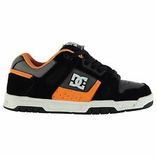 DC Mens Stag Skate Shoes Leather Trainers Lace Up Sneakers Ankle Support