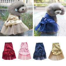 Small Cute Dog Cat Tutu Dress Lace Skirt Pet Puppy Dog- Princess Costume Clothes