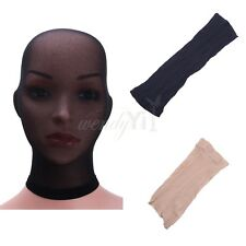Unisex Lingerie Sheer Stockings Headgear Mask Mesh Bondage for Role Play Costume