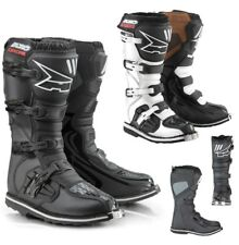 AXO DRONE MX Boots Motocross Enduro Cross Boots black or white
