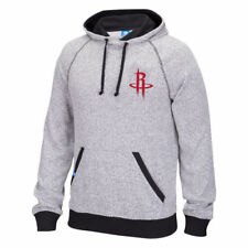 Houston Rockets Adidas Men's Originals Pullover Hood Sweatshirts - Heather Gray