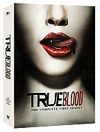 True Blood - The Complete First Season (DVD, 2009, 5-Disc Set) Like New