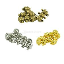 10 Sets Oblate Strong Magnetic Clasps Jewelry DIY Findings Crafts with Loops