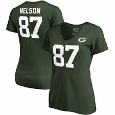 Jordy Nelson NFL Pro Line by Fanatics Branded Green Bay Packers T-Shirt - NFL