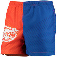 Florida Gators Color Block Swim Trunks - Orange/Royal - NCAA