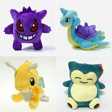 Pokemon Plush Soft Toys Stuffed Doll Gengar Figure Kid Teddy Gifts Collection
