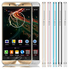 "Unlocked 5"" Cheap 3G Android 5.1 Smartphone Mobile Phone Dual SIM Quad Core GPS"