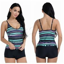 Boy Shorts Women's Swimwear One Piece Swimsuit Tankini Beach Bikini Bathing Suit