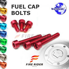 FRW 7Color Fuel Cap Bolts Set For Triumph Daytona 675 R 06-13 07 08 09 10 11 12