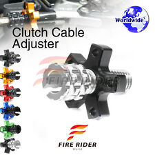 FRW 6Color CNC Clutch Cable Adjuster For Suzuki VS800 Intruder All Year