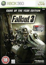 Fallout 3 - Game of the Year Edition (Microsoft Xbox 360)  WITH MANUAL
