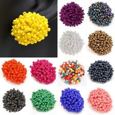 14 Colors Fashion Jewelry Elegant Women Resin Seed Beads Stud Earrings for Pick