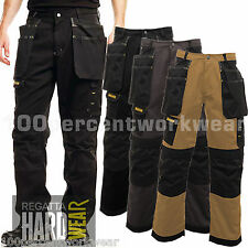 Regatta Hardwear TRJ336 Workline Work Trousers Pants Holster Cargo Knee Pockets