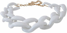 KENNETH JAY LANE- RESIN GRADUATED LINK NECKLACE