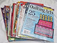 Quilting Arts Magazine Issues 58-83 August 2012-October 2016
