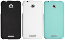NEW RUBBERIZED HARD SHELL CASE PROTEX COVER FOR HTC DESIRE 510 PHONE