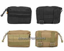 Tactical Airsoft Molle Utility EDC Accessory Bag Magazine Drop Pouch Ammo Bag