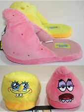 Nickelodeon Spongebob Squarepants & Patrick Slippers ADULT PLUSH HOUSE SHOES