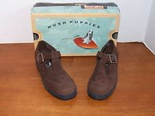 Hush Puppies Lauren Black or Brown or Navy Leather Dress Shoes