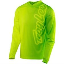 Troy Lee Designs Men's MX Jersey - GP Air - Neon Yellow-Green
