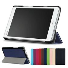 "PU Leather Flip Stand Case Cover For 8"" Huawei MediaPad M3 Lite 8.0 Tablet+Film"
