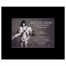 BAT FOR LASHES - The Haunted Man Mini Poster