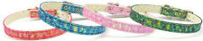 Dog Puppy Collar - Sparkle Twinkle - Mirage - Made In USA - Choose Color & Size