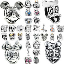 Cute animal 925 silver European charms bead For PAN sterling bracelet jewelry UK