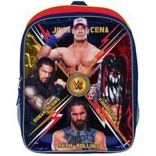 "WWE ROMAN REIGNS JOHN CENA 16"" Full-Size Backpack w/Optional Insulated Lunch Box"