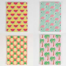 SASS & BELLE TROPICAL SUMMER A5 NOTEBOOK NOTE PAD MEMO DIARY JOURNAL HOME GIFT