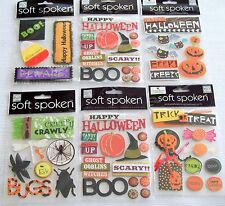 Soft Spoken Halloween  Stickers    New!   NIP