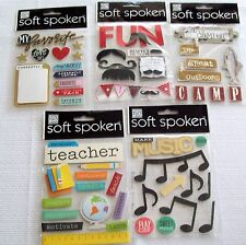 Soft Spoken  Stickers    New!   NIP