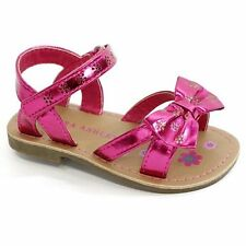 NEW Girl Toddler *5*or*6* LAURA ASHLEY 12-18-24 months Pink Flower Sandals Shoes
